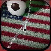 Usa football Zipper Lock™ icon