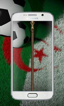 algeria football Zipper Lock™ poster