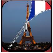 Paris Lock Screen Zipper icon