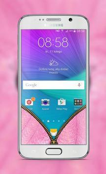 Pink Fur Lock Screen apk screenshot