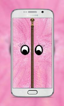 Pink Fur Lock Screen poster