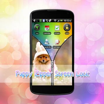 Puppy Lock Screen screenshot 5