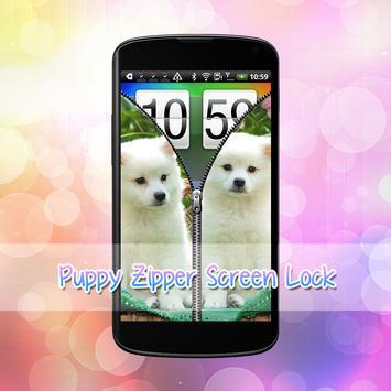 Puppy Lock Screen screenshot 1