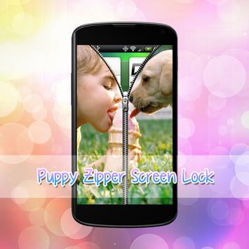 Puppy Lock Screen screenshot 3
