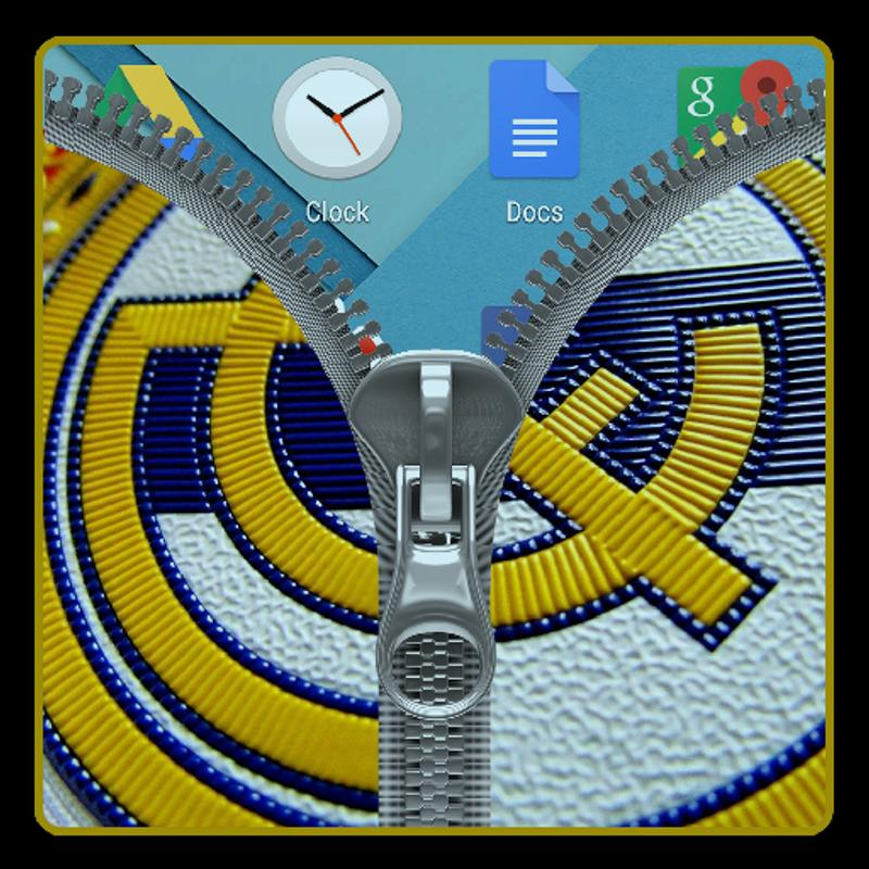503ad8bd5 Real Madrid Flag Zipper Lock for Android - APK Download