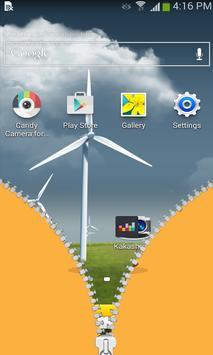 Cool choco zipper lock apk screenshot