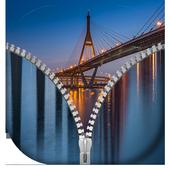 Bridge Zipper Lock Screen icon