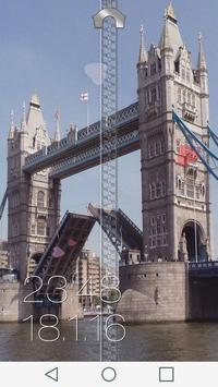 Bridge Zipper Lock Screen screenshot 5