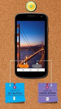 Bridge Zipper Lock Screen screenshot 1