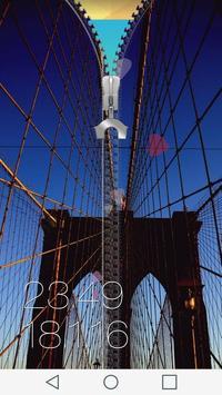Bridge Zipper Lock Screen screenshot 3