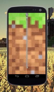 Craft Zipper Lock Screen poster