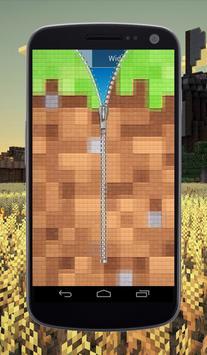 Craft Zipper Lock Screen screenshot 1