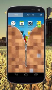 Craft Zipper Lock Screen screenshot 2
