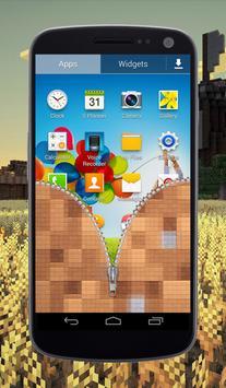Craft Zipper Lock Screen screenshot 3