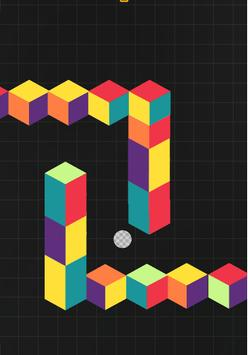 Cubefield poster