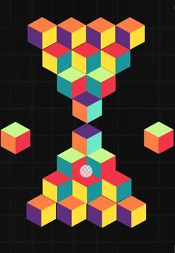 Cubefield screenshot 1