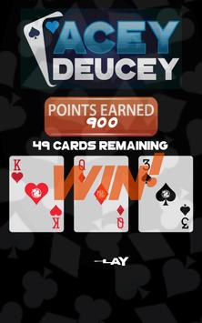 Acey Deucey with Perk Points! apk screenshot