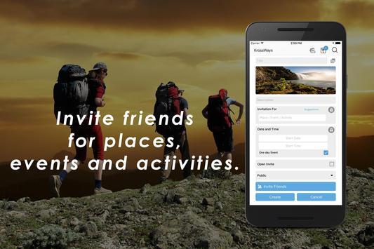 Krossways - A Complete Social Networking App screenshot 1