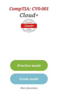 CompTIA Cloud+ Certification: CV0-001 Exam poster