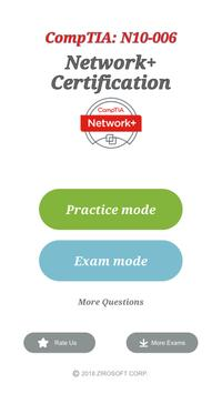 CompTIA Network+ Certification: N10-006 Exam poster