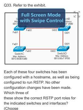 CompTIA Network+ Certification: N10-006 Exam screenshot 17