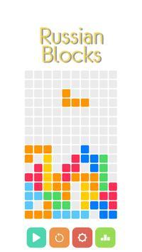 Russian Blocks Brain Puzzle poster