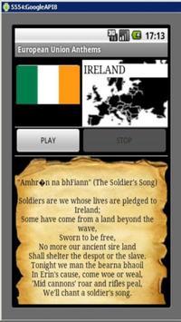 EU Anthems apk screenshot