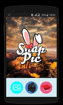 Snap Photo Filters & Stickers poster