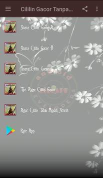 Cililin Gacor Tanpa Rem screenshot 1