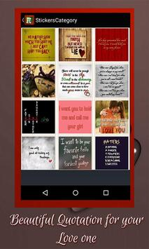 Love Stickers apk screenshot