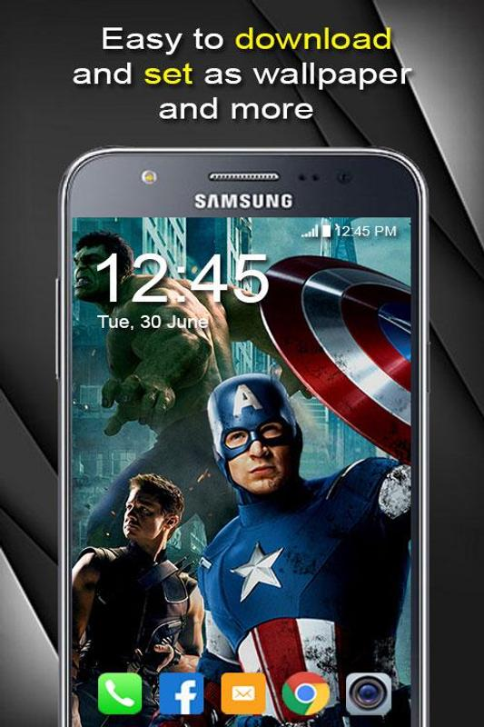 Skin Avengers Mobile Wallpaper Hd For Android Apk Download