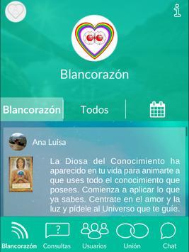 Blancorazón - Red social espiritual y esotérica screenshot 13