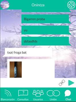 Blancorazón - Red social espiritual apk screenshot