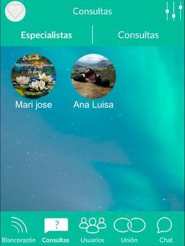 Blancorazón - Red social espiritual y esotérica screenshot 6