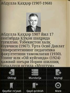 Abdulla Qahhor hikoyalari apk screenshot