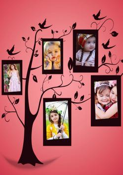 Tree Collage Photo Maker poster