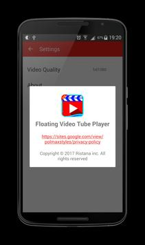 Floating Video Tube Player screenshot 24
