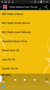 England Radio Online - Live screenshot 1