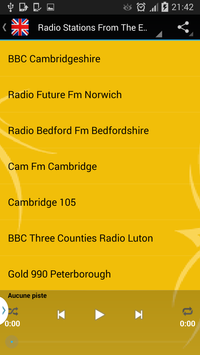 England Radio Online - Live screenshot 4