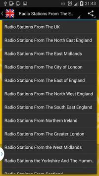 England Radio Online - Live screenshot 5