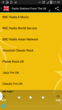 England Radio Online - Live screenshot 9