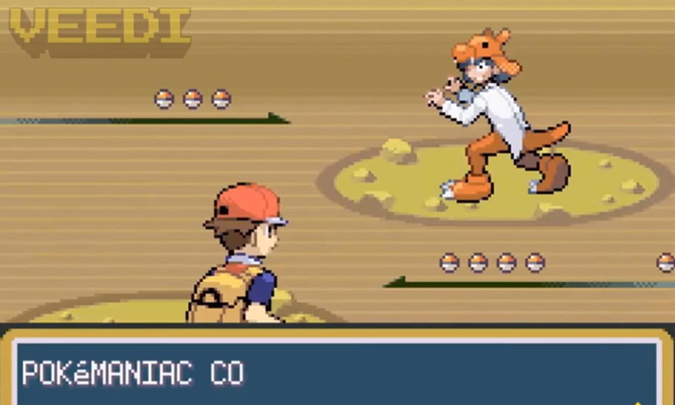 pokemon fire red game for android apk