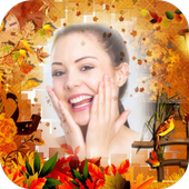 Autumn Background Photo Editor icon