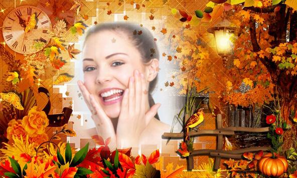 Autumn Background Photo Editor apk screenshot