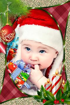 Merry Christmas Frames Photo poster
