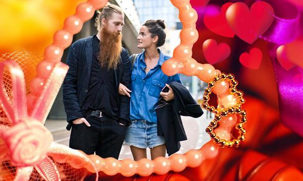 Romantic Frames Photo Editor apk screenshot