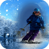 Snowfall Frames Photo Editor icon
