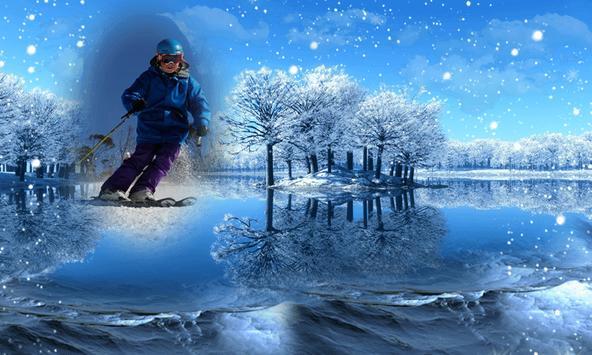 Snowfall Frames Photo Editor apk screenshot