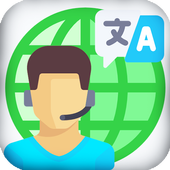 Speak and Translate - Travel icon