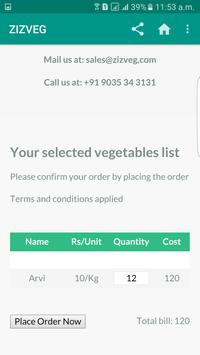 ZIZ VEG screenshot 2